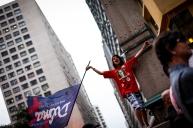Ato em prol do Partido dos Trabalhadores- CURITIBA - 24/10/2014 - Voto em Imagens